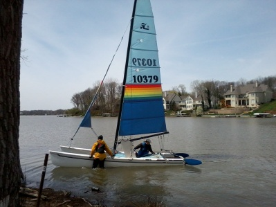 Early Spring Sail 4/21/13