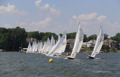 2009 National's Regatta Starting Line